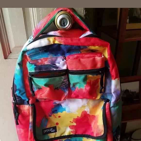 bdfd65cc73 Puma Procat Radient Tie Dyed Backpack Bookbag. M 5b7df9cd409c1568b7d16aa2